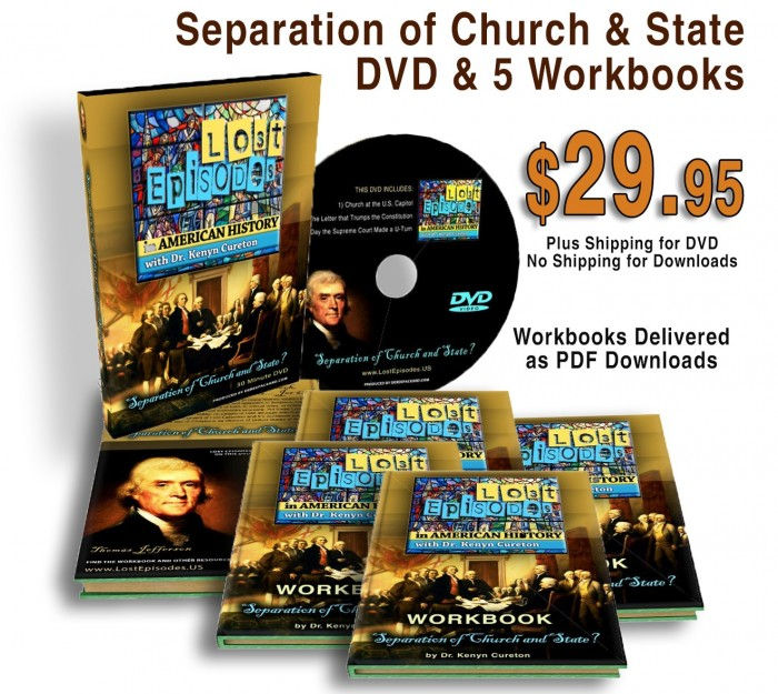 Lost Episodes: Separation of Church and State DVD